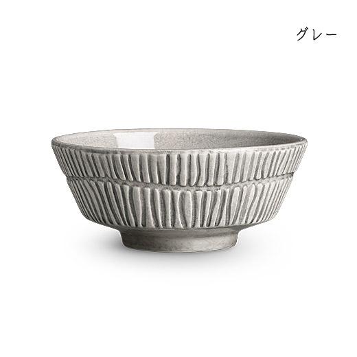 stripes-bowl-15cmグレー