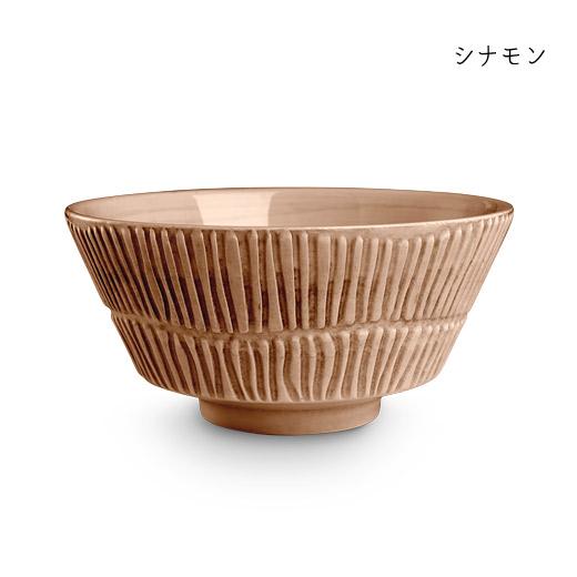 stripes-bowl-16cmシナモン