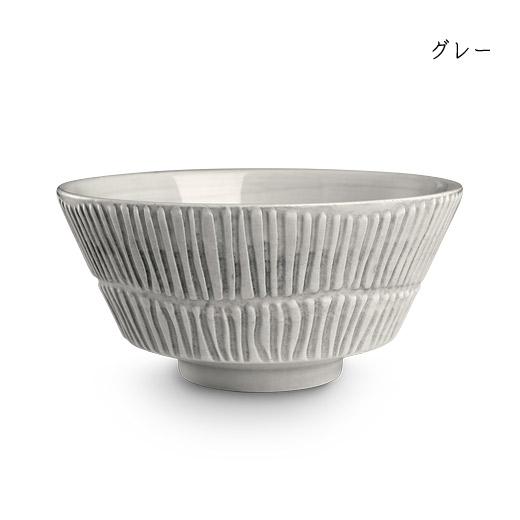 stripes-bowl-16cmグレー