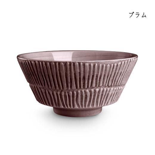 stripes-bowl-16cmプラム