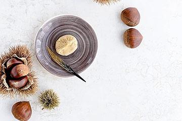 おしゃれな陶器製銘々皿(小皿)でおしゃれ&素朴なお茶会