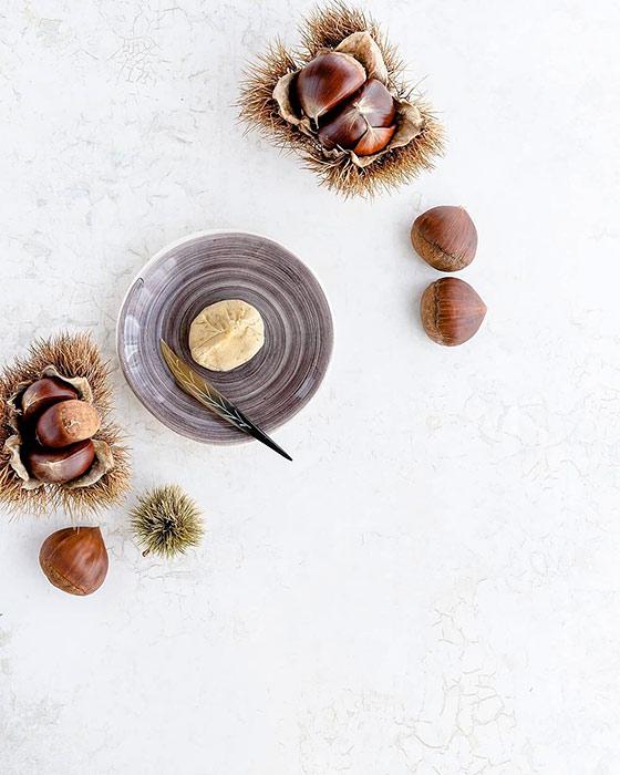 おしゃれな陶器製銘々皿(小皿)