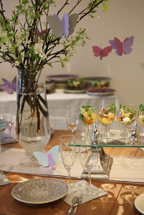 復活祭テーブルコーディネート
