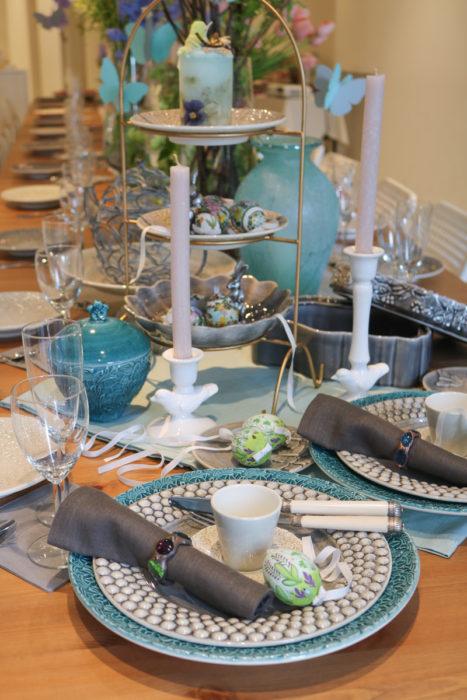 復活祭テーブルセッティング