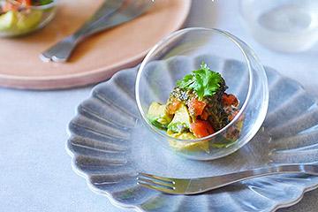 20cmのお皿は万能サイズ!初めてのマテュースの食器におすすめ